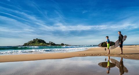 Entdecken Sie die fantastischen Surferstrände an der Südküste von NSW