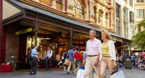 Einkaufen in Sydney
