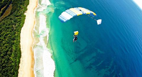 Skydive Sydney– Wollongong