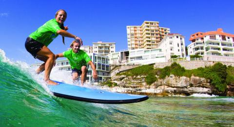 Surfschule Lets Go Surfing in Bondi