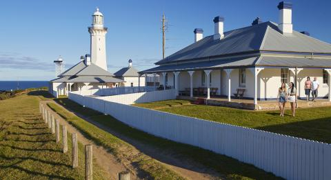 Green Cape Lightstation Cottage, Ben Boyd NP South Coast