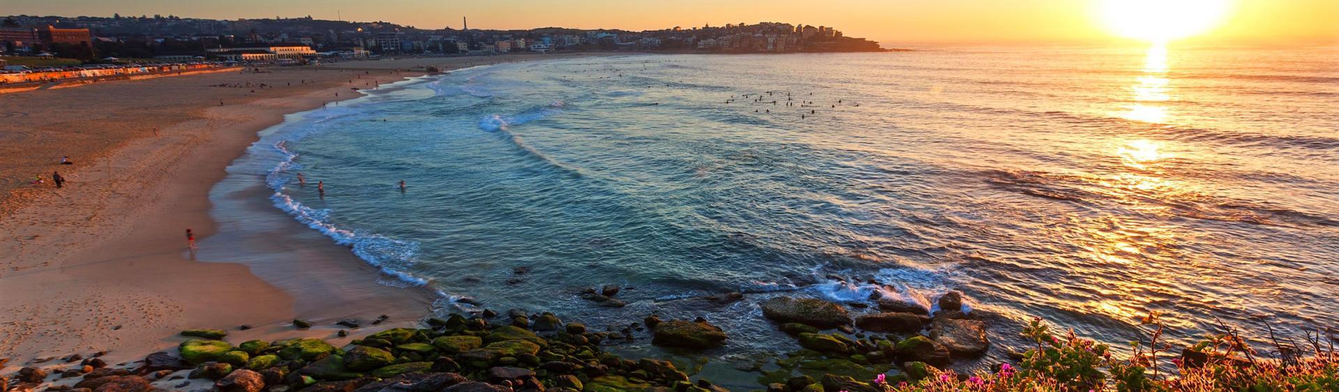 Früher Morgen am Bondi Beach