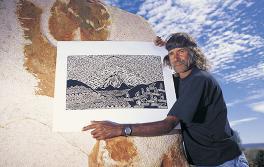 Eingeborener Künstler, Outback NSW