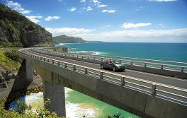 Sea Cliff Bridge, Südküste