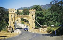 Die historische Hampden Bridge, Kangaroo Valley