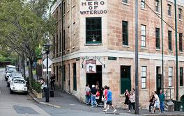 Hero of Waterloo Bar, The Rocks