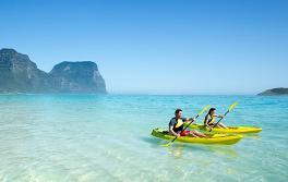Kajakfahren, Lord Howe Island