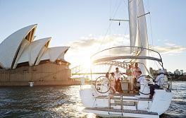 Segelyacht, Sydney Harbour